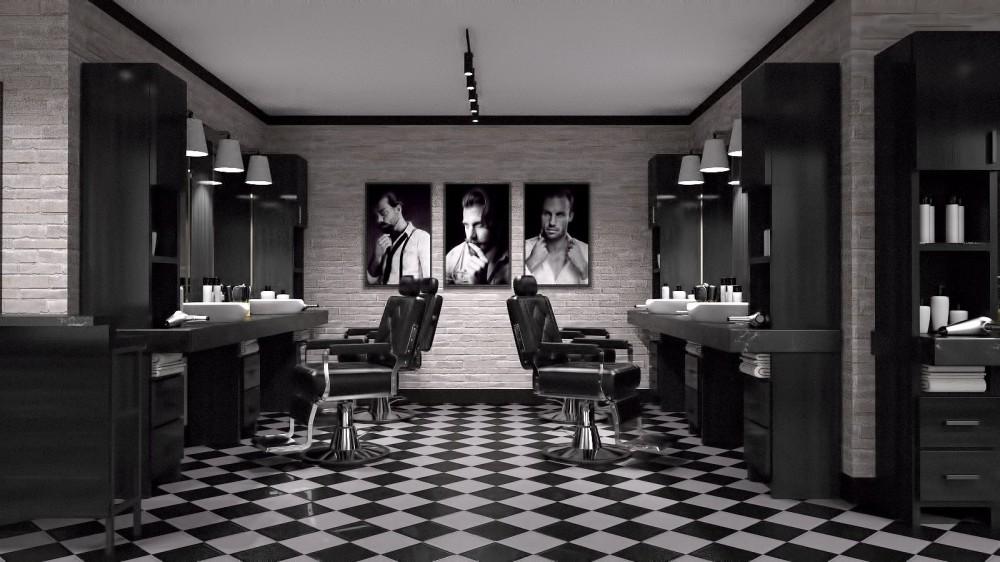 Barber Shop for Poser and DAZ Studio