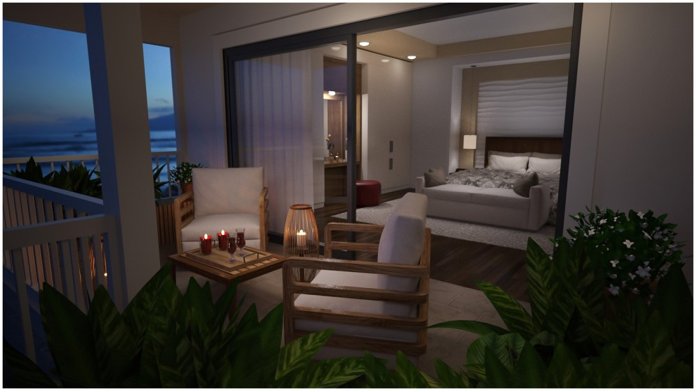 Modern Apartment - Bedroom