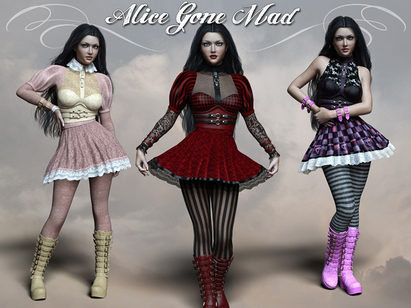 Alice Gone Mad for DAZ