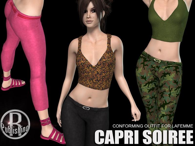 Capri Soiree for Poser's La Femme