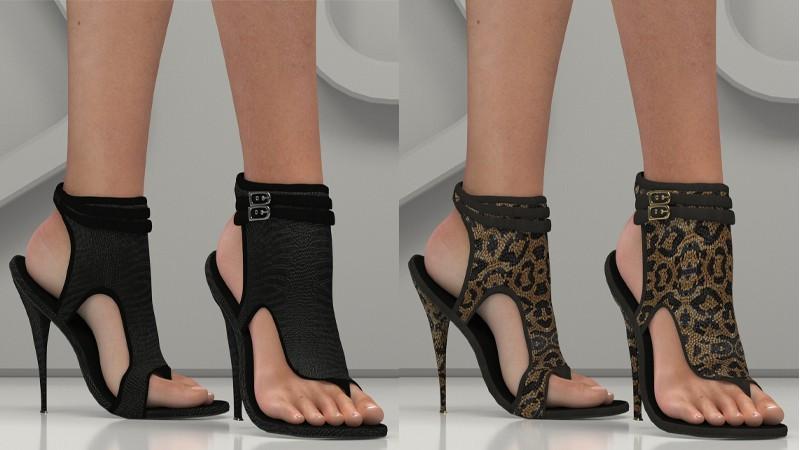 Thong Stiletto for La Femme