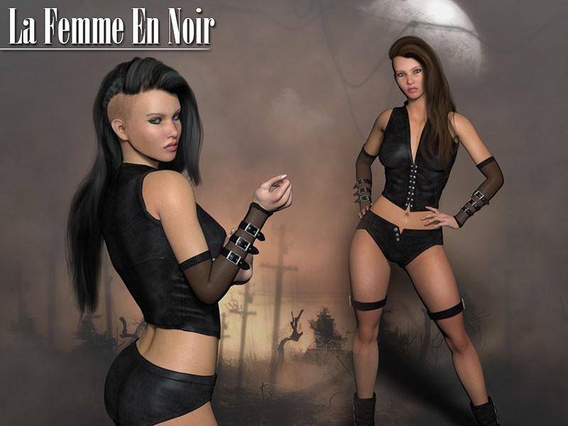 La Femme En Noir by Rhiannon