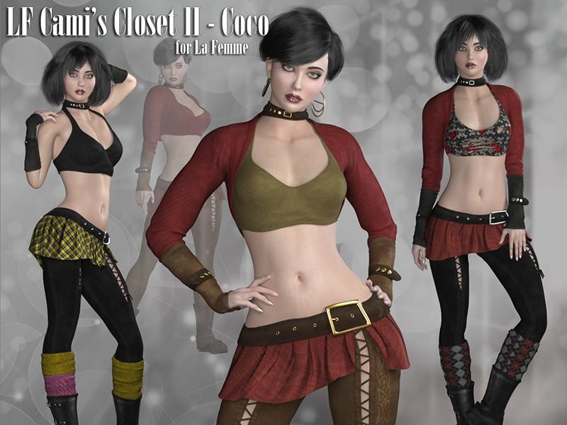 La Femme Cami's Closet II - Coco