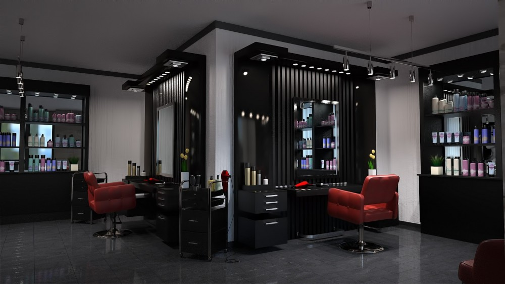 Hair Salon for Poser or DAZ Studio