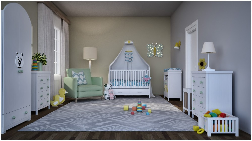 Modern Apartment: Nursery