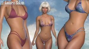 Goddess Bikini for La Femme