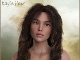 Kayla Hair For DAZ