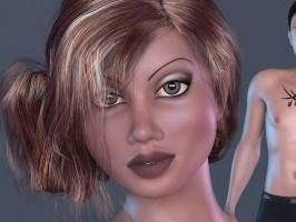 Delilah Dollz character for La Femme