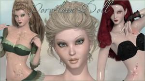 Porcelain Doll for La Femme's Anime Girl