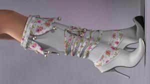 La Bell Boots for Poser's La Femme