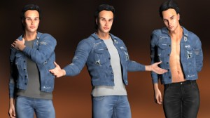 LH Basics II for Poser's L'Homme