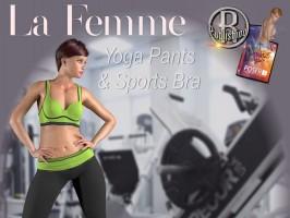 FADS Yoga Pants & Sports Bra