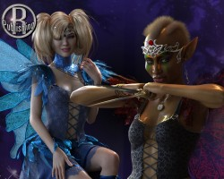 Good Fairy Bad Fairy for DAZ Studio