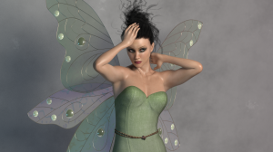 Pixie Wings for Poser