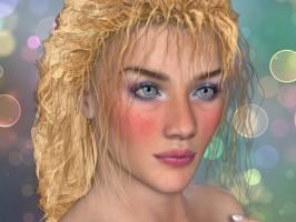 Carolina Hair Poser