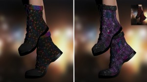 RPRevolution for La Combat Boots