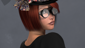 Steampunk Headwear for Poser