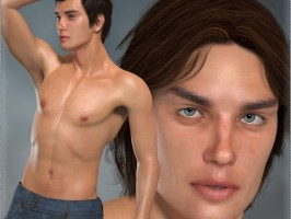 L'Homme Male Base figure for Poser Pro 11