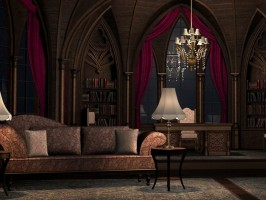 Gothic Room by GrayCloudDesign