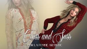 Class and Sass for La Femme's La Artist