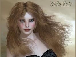 Kayla Hair For Poser