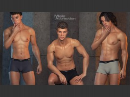 Poses for Poser's L'Homme