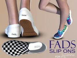 FADS Slip Ons for La Femme