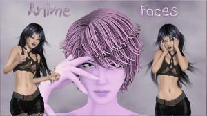 Anime Faces for La Femme's Anime Girl