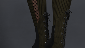 Steampunk Boots for Poser's La Femme