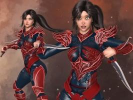 Fantasy Armor for Poser's La Femme