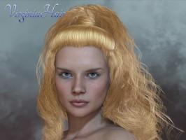 Virginia Hair for Poser